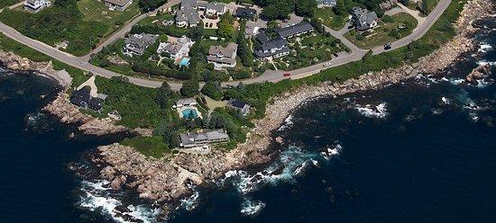 Cape Arundel Inn & Resort Aerial View
