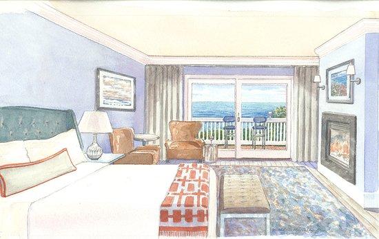 Cape Arundel Inn & Resort: Rockbound Bungalow