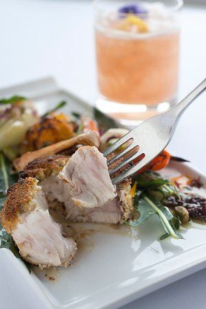 Ocean Cape Arundel Inn : Swordfish at Ocean Restaurant