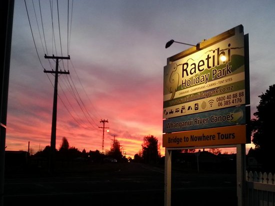 Beautiful Sunset in Raetihi