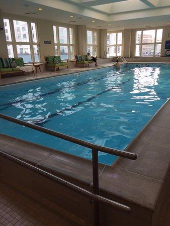 Seaport Boston Hotel: The Pool in the Health Spa