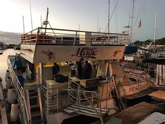 Maalaea, Χαβάη: Maui Magic - Slip #95 at dock