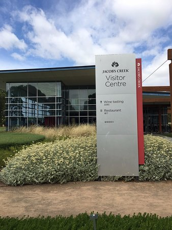 Barossa Valley Wine Tour with Wine Tastings and Lunch: Jacob's Creek Visitors Center