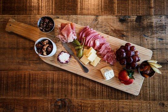 Maxwells Restaurant u0026 Bar Artisan Cheese Plate - Dried u0026 Fresh Fruits Olive Tapenade & Artisan Cheese Plate - Dried u0026 Fresh Fruits Olive Tapenade Candied ...