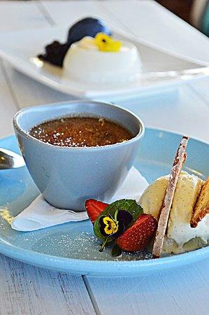 Indigo - Eats, Treats & Bar: Creme Brulee, Pannacotta and more