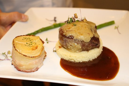 Gibsonville, NC: Tournedos of Beef