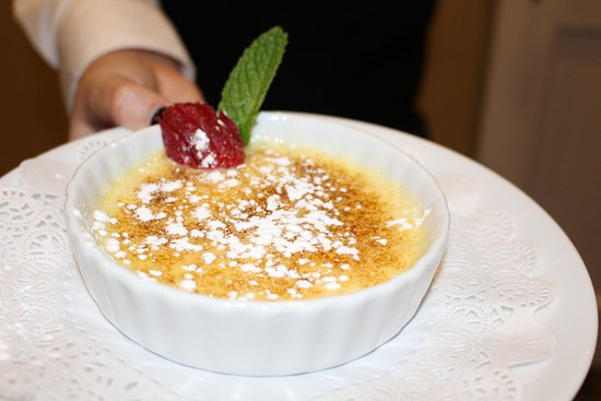 Gibsonville, NC: Creme Brulee
