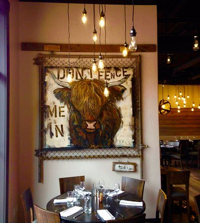 Basalt, CO: Highland Cow Art by local artist Tori Campisi