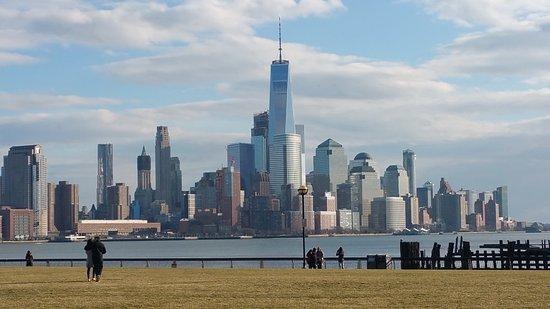 Hoboken Waterfront Walkway Views Of Nyc