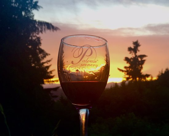 Vashon, واشنطن: Wine in the Sunset