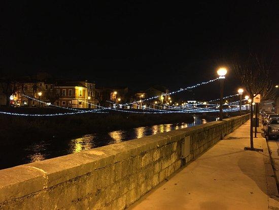 Sora, Italy: Lungoliri luminarie