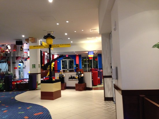 Themes On Each Floor Picture Of Legoland Florida Hotel