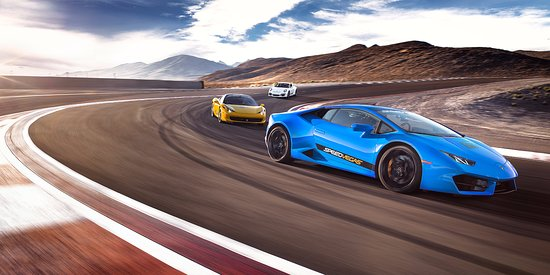 Speedvegas: Lamborghini Huracan On A Racetrack In Las Vegas