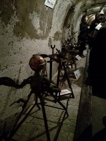 Epernay, França: Maquinas antiguas