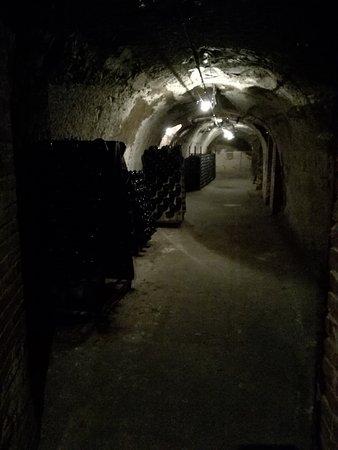Epernay, Francia: Añejando