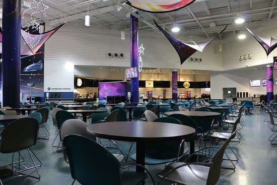 Food Court in the Museum - Picture of Space Center Houston ...