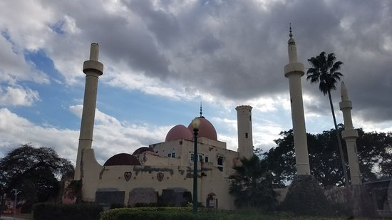 City Hall and Gardens: the mosque