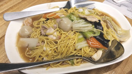 how to cook pancit canton noodles