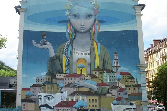 Murales de artistas de Kiev