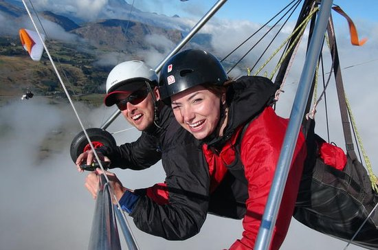 Coronet Peak Tandem Paragliding e