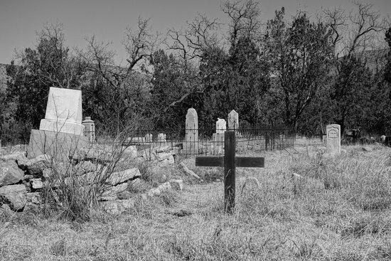 Lincoln, Nuevo Mexico: Local cemetery