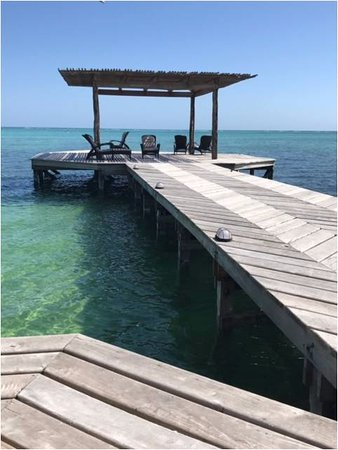 Matachica Resort & Spa: Relatively new dock - great for lounging