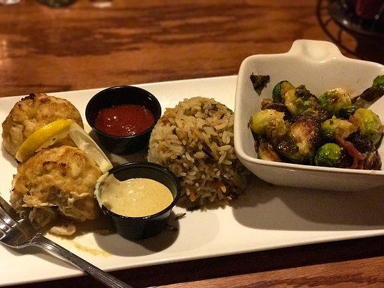 Rocky Gap Casino Resort: Dinner from LB's place