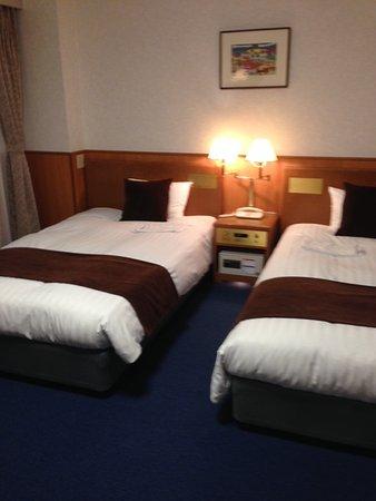 Ise Pearl Pier Hotel: 清潔で充分な広さのツインルーム