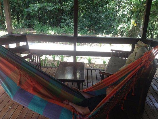 Chachagua, Kosta Rika: Hamaca en la habitación