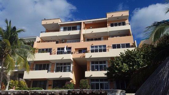 Cantamar Condos: 202 is 2nd floor left side