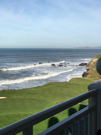 The Ritz-Carlton, Half Moon Bay: View from room.
