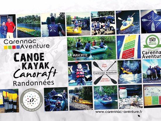 Carennac Aventure, ce n'est pas qu'une location de canoë-kayak sur la Dordogne ...
