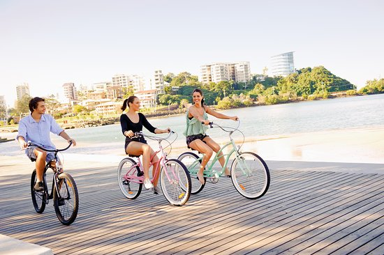 Tweed Heads, Australia: Cycling at Jack Evans Boat Harbour