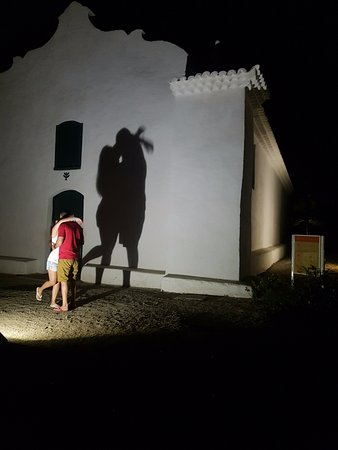 Trancoso, BA: Igreja a noite