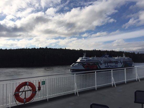 Tsawwassen, Canadá: BC Ferry - Balsa Coastal Renaissance