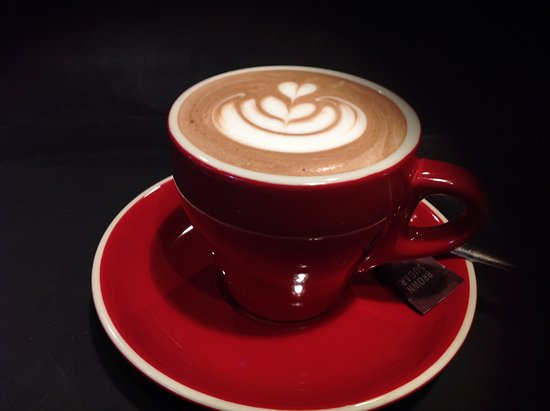 Marondera, ซิมบับเว: Nothing beats this belgian  hot chocolate.