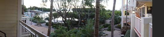 MB at Key Largo: Balcony panoramic view