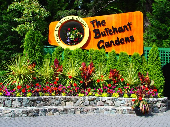 Garden Entrance Picture Of The Butchart Gardens Central Saanich Tripadvisor