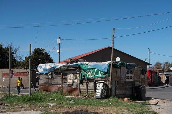 Ciudad del Cabo Central, Sudáfrica: A shop from behind