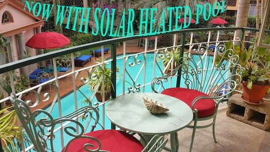 Woodmere Serviced Apartments: Our Pool is Now solar Heated