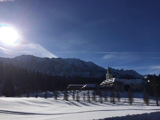 Schloss Elmau: Winterträume