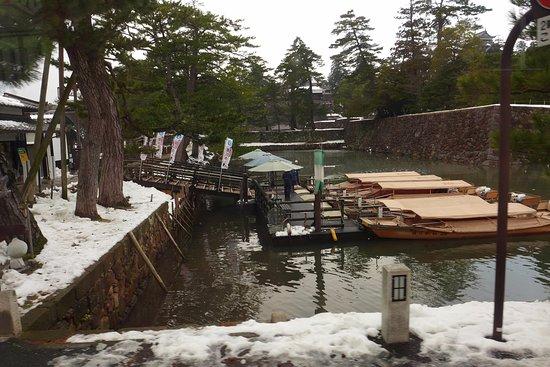 Matsue Castle Town: 유람선 승선장