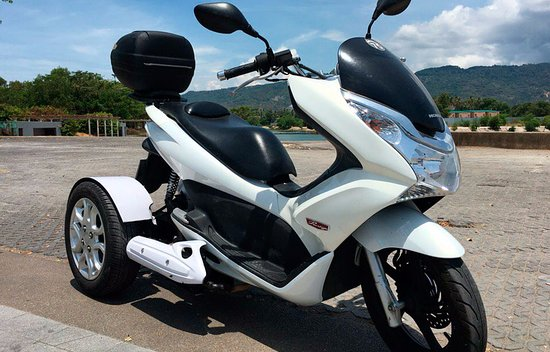 Honda Pcx 150 >> Honda Pcx 150 Three Wheeled Picture Of Thai Moto Bophut