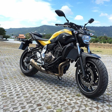 Bophut, Thailand: Yamaha MT-07