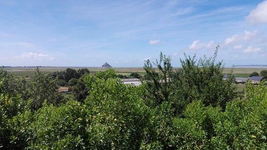 Huisnes sur Mer, Fransa: Vista su Mont Saint Michele