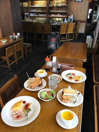 Pension Puutaro: Private breakfast prepared for us as we were the only guests!