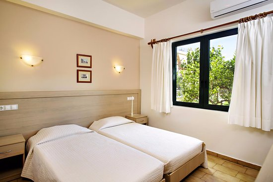 Lefka Apartments One Bedroom Apartment The With 2 Single Beds That Can Be