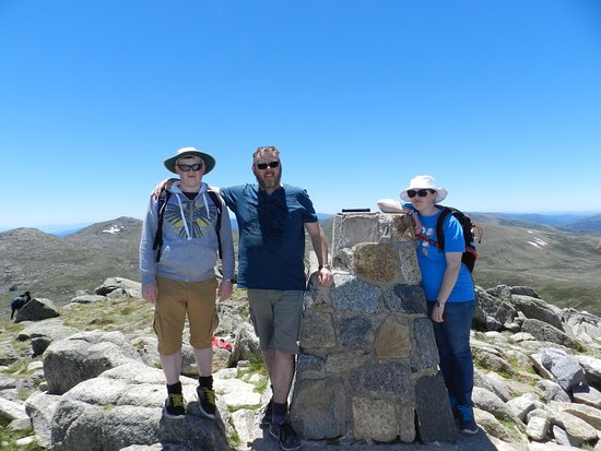 Thredbo Village, Australien: We made it, youi can too..