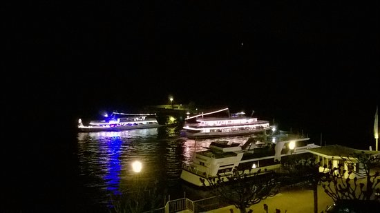 Hotel Garni Guenther : ...and sometimes the Rhine Cruisers put on a bit of a show!!