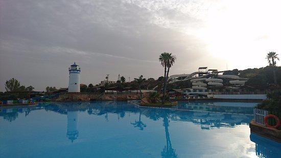 Aqua Natura : Main Pool, slides.